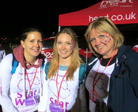 Keech Hospice Starwalk - Getting Ready