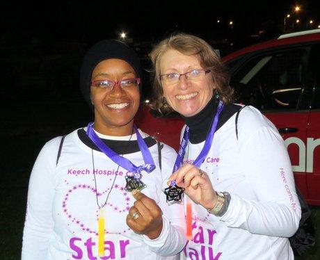 Keech Hospice Starwalk - Medals