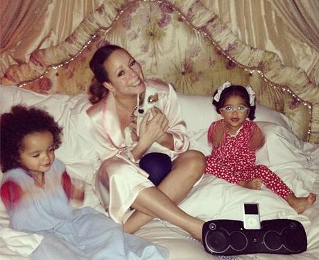 Mariah Carey with Morocco and Monroe