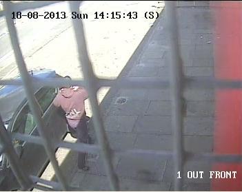 CCTV Peterborough robbery