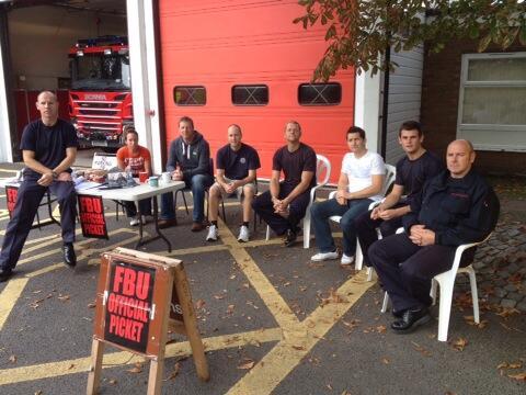 Ely Firefighters Strike