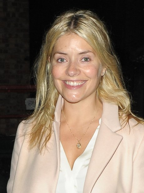 Holly Willoughby without make up