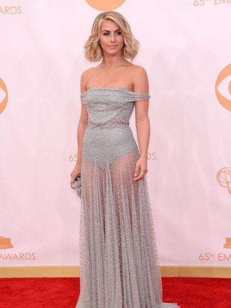 Julianne Hough attends the Emmys