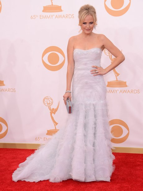 Malin Akerman attends the Emmys