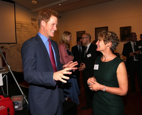 Prince Harry MapAction Reception