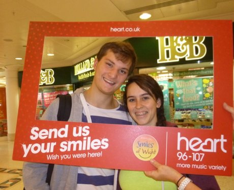 Did you bump into the Heart Angels running their '