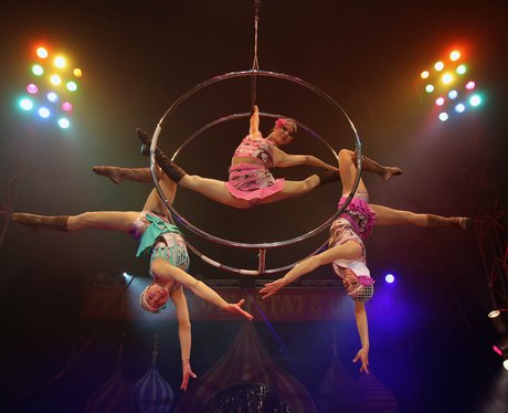 Russian State Circus Perfomers