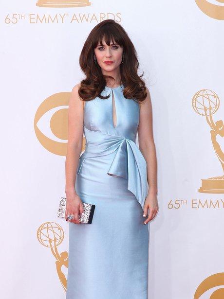 Zooey Deschanel Emmy 2013 Actress Zooey Deschane...