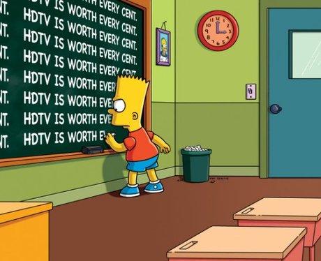 Bart Simpson lines