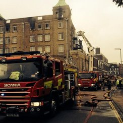 Cambridge Hotel Fire