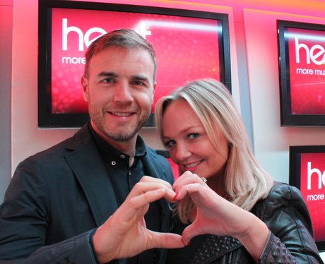 Gary Barlow and Emma Bunton Give it some Heart