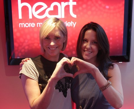 Give It Some Heart TV Campaign with Jenni Falconer and Sarah