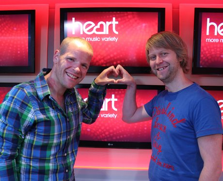 Give It Some Heart TV Campaign with Roberto and Nigel