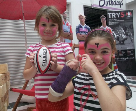 Gloucester Rugby at Eastgate 2013