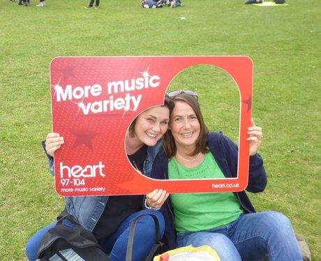 Did you have your photo taken with our Heart shape