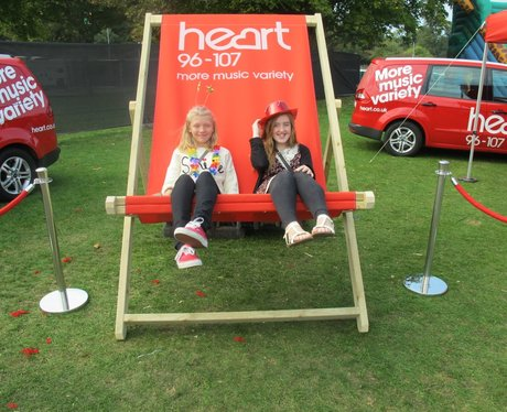 Did you have a picture sitting on Heart's GIANT de