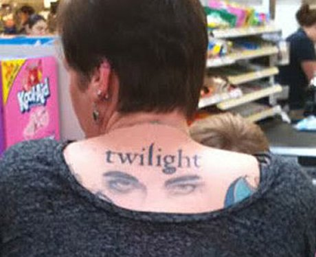 15532357b Another, albeit slightly smaller 'Twilight' fan tattoo. - Craziest ...