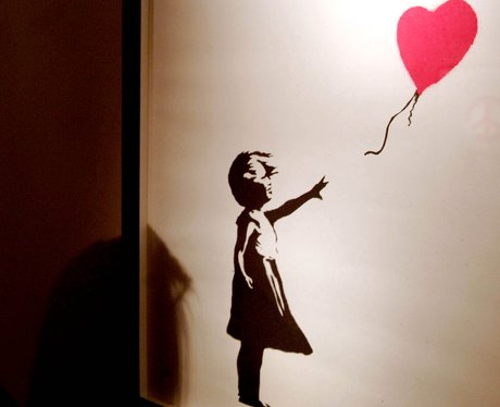 Banksy In Pictures Balloon