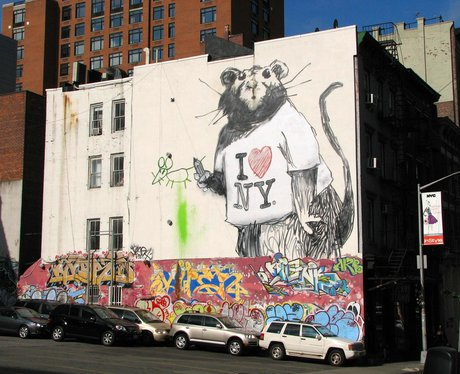 Banksy In Pictures I Love New York