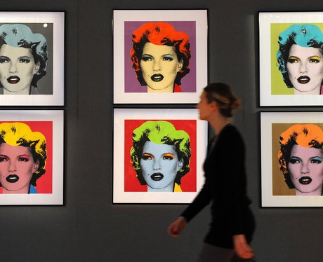 Banksy In Pictures Kate Moss