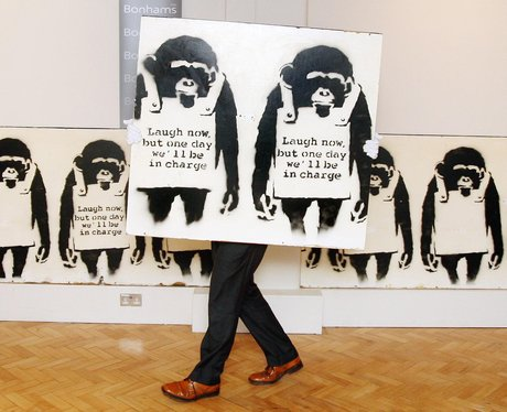 Banksy In Pictures Laugh Now