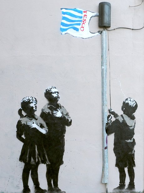 Banksy In Pictures Tesco