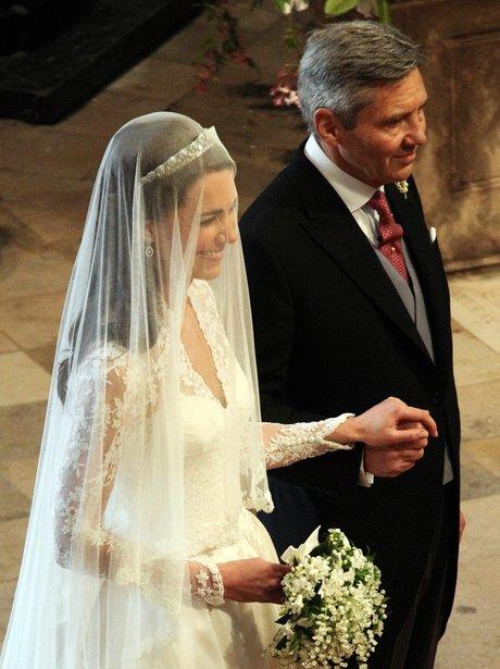 Kate Middleton and Michael Middleton