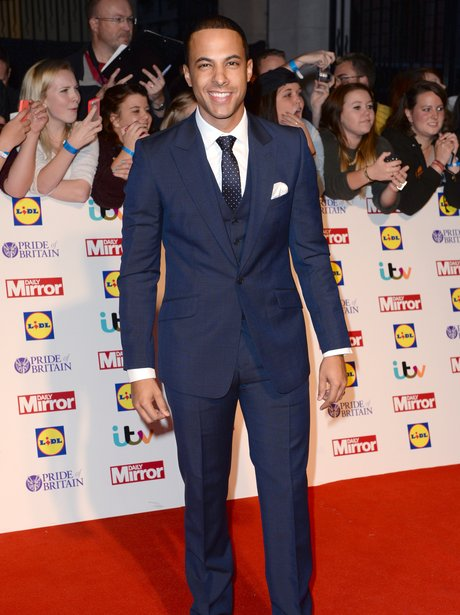 Marvin Humes Pride Of Britain Awards 2013