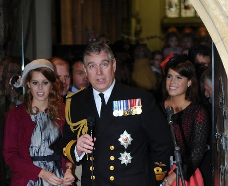 Prince Andrew And Daughters