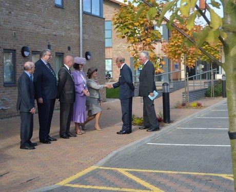 Prince Phillip Aylsham Visit