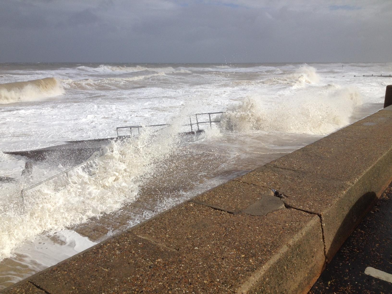sea waves walcott