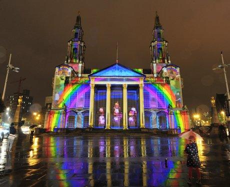 The light show in Leeds