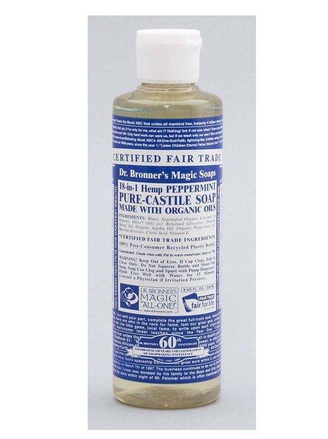 dr bronner organic liquid soap