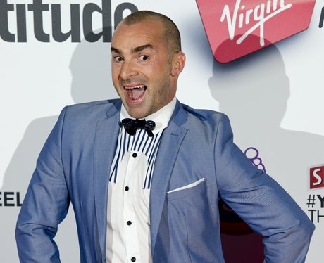 Louie Spence pulls a funny face at The Attitude Awards
