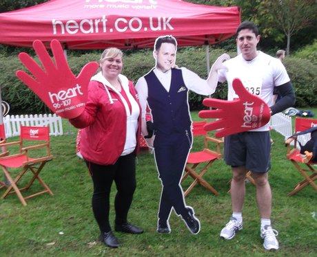 Swindon Half Marathon Getting Ready 2013