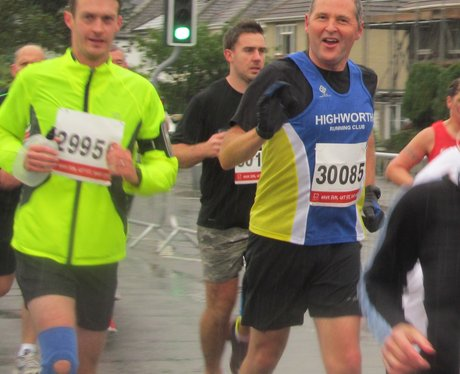 Swindon Half Marathon Getting The Marathon 2013