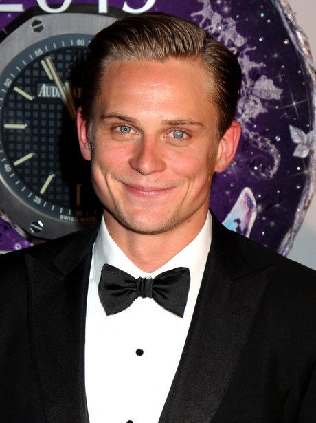 Billy Magnussen in tuxedo on the red carpet