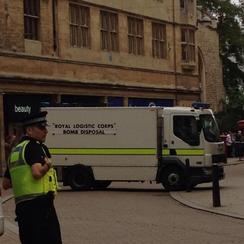 Cambridge Grand Arcade Evacuated