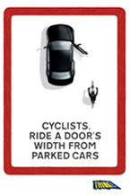 Cycling campaign poster