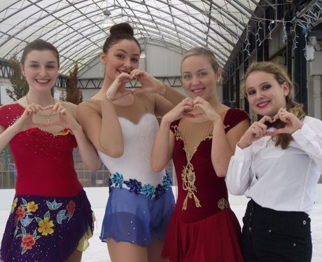 Heart Angels - Cadbury Ice Rink Opening