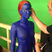 Image 3: Jennifer Lawrence painted blue on the set of X Men