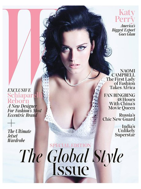 Katy Perry on the cover of W Magazine 2013