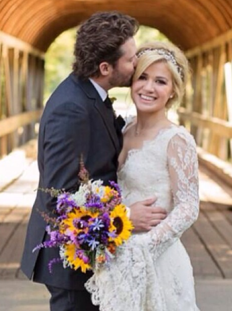 Kelly Clarkson wedding picture
