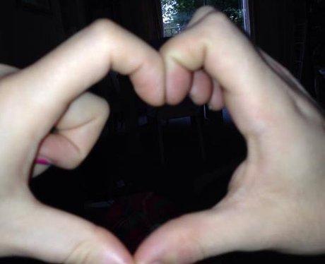 Leona and boyfriend Dan Giving It Some Heart
