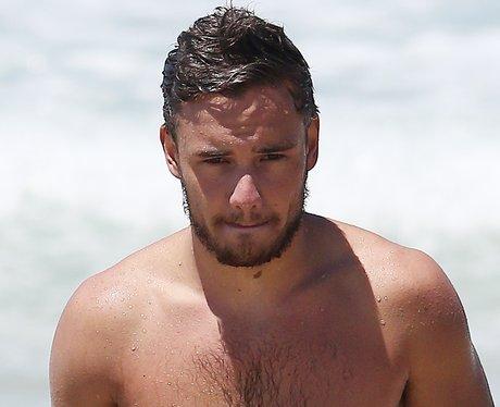Liam Payne topless