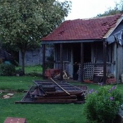 Garden fences and roofs suffered most damage