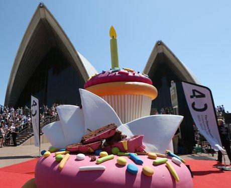 A cake at Sydney Opera house
