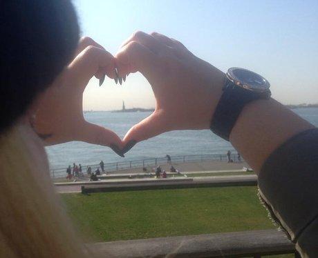 Heart listener Jemma Marie Allison - Statue of Lib
