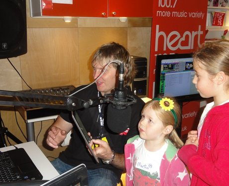 Mini Radio Station at Ikea Coventry