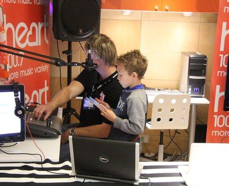 Mini Radio Station at Ikea Coventry Monday